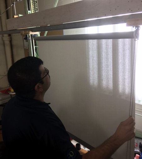 Testing Roller Shades